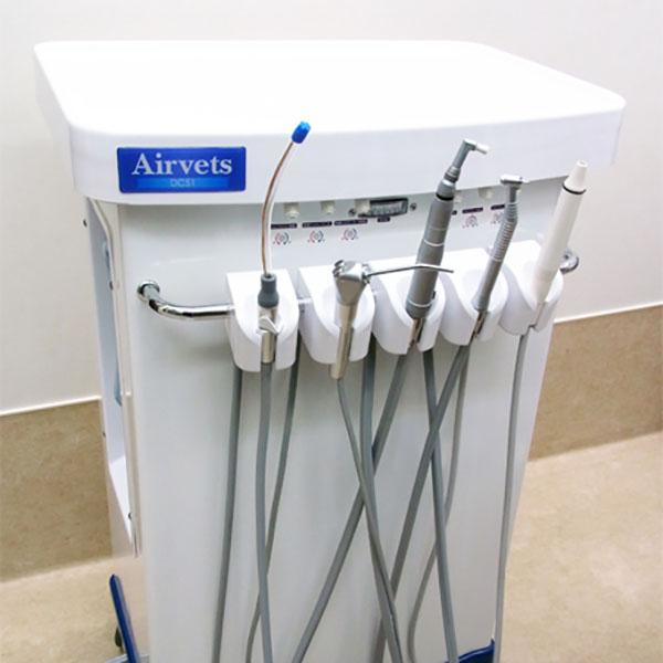 動物用歯科ユニット(Airvets)